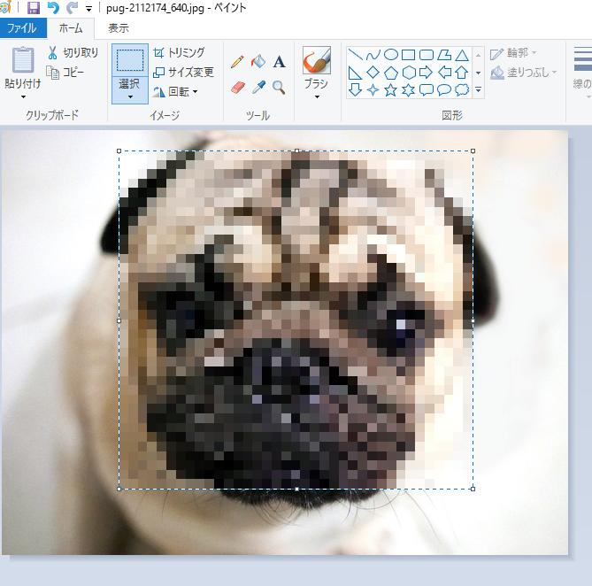 ペイントを使って画像を加工する方法