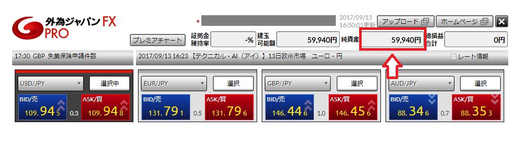 外為ジャパンFXの入金確認方法