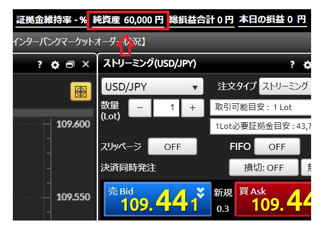 純資産60,000円